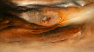 Aberration, oil on canvas, 152 x 86 cm, 2008