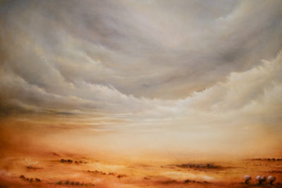 Allure of the Empyrean, oil on canvas, 92 x 61 cm, 2011