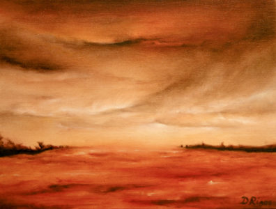 Amber Vision, oil on canvas, 40 x 30 cm, 2011