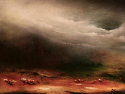 Arcane Mantle, oil on canvas, 40 x 30 cm, 2012