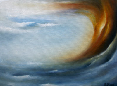 Ascension, oil on canvas, 40 x 30 cm, 2007