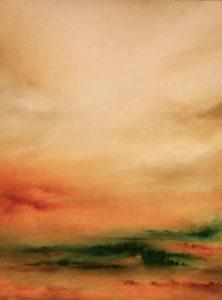 Auburn Coalescence, oil on canvas, 30 x 40 cm, 2012