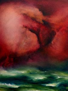 Delusive Ascent, oil on canvas, 30 x 40 cm, 2013