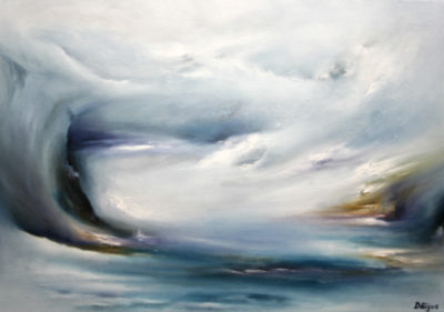 Distant Sanctuary, oil on canvas, 86 x 61 cm, 2008