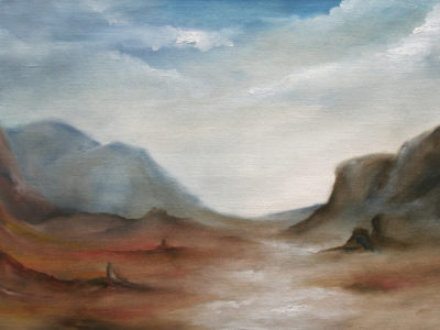 Untitled, oil on canvas, 2007