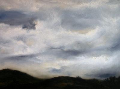 Impending Storm, oil on canvas, 60 x 46 cm, 2010