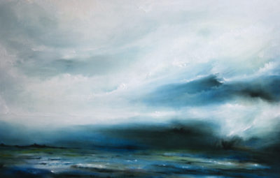 Maelstrom, oil on canvas, 92 x 61 cm, 2012