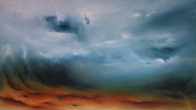 Metamorphosis, oil on canvas, 152 x 86 cm, 2010