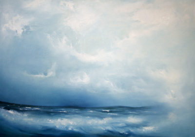 Monsoon Looming, oil on canvas, 86 x 61 cm, 2011