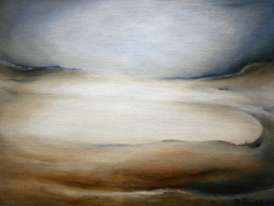 Omniscience, oil on canvas, 40 x 30 cm, 2007