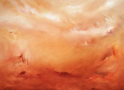 Parched Vision, oil on canvas, 60 x 46 cm, 2010