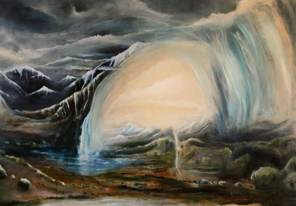 oil on canvas, 86 x 61 cm, 2015