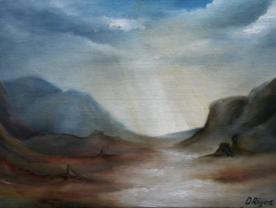 Revelation, oil on canvas, 40 x 30 cm, 2007