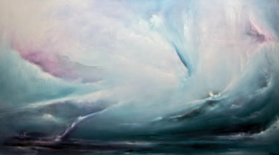 Searching, oil on canvas, 152 x 86 cm, 2008