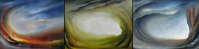 Solace Series, oil on canvas, 75 x 20 cm, 2007