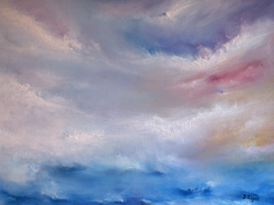 Spring Light, oil on canvas, 60 x 46 cm, 2010