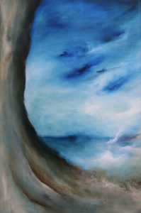 The Journey, oil on canvas, 30 x 46 cm, 2006