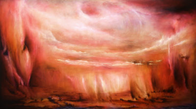 Whirling Dervish, oil on canvas, 138 x 76 cm, 2013