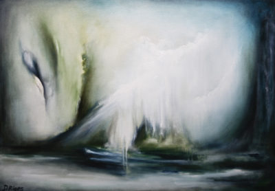 Windswept, oil on canvas, 86 x 61 cm, 2008